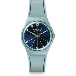 Reloj Mujer Swatch Blue Stitches GM184