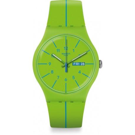 Reloj Hombre Swatch Verde azul SUOG707