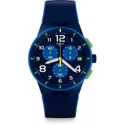 Reloj Hombre Swatch Bleu sur bleu SUSN409