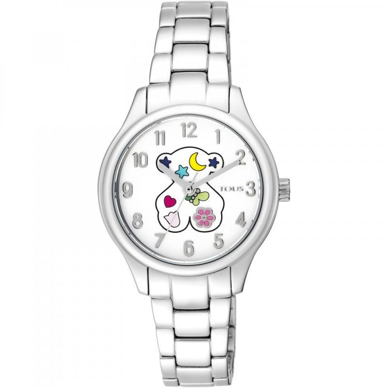 80d29009e539 Reloj Niña Tous Nit 900350215 con cadena de acero