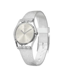 MONTRE FEMME Swatch Silver Glistar Too Collection Time To Swatch