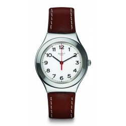 SWATCH IRONY BIG STRICTLY SILVER