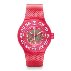 Reloj Unisex Swatch Deep Berry SUUP100
