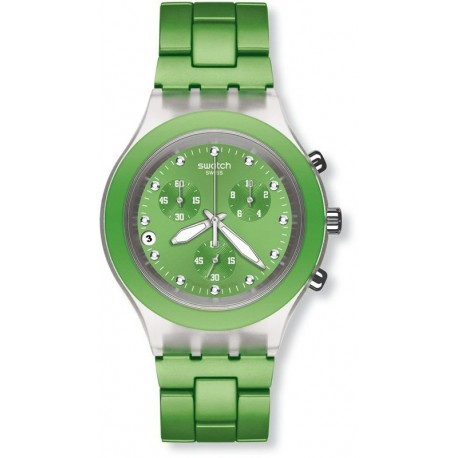 Reloj Unisex Swatch Irony Full-Blooded Lime SVCK4071AG