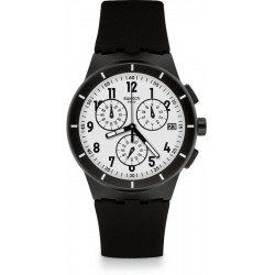 Reloj Unisex Swatch Twice Again Black SUSB401