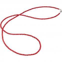 Collar largo ENGELSRUFER coral 80cm ERN-80-BC