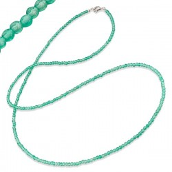 Collar largo ENGELSRUFER ágata verde 80cm ERN-80-GR