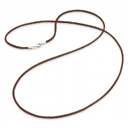 Cordón de seda ENGELSRUFER marrón 80cm ERN-80-SI-03