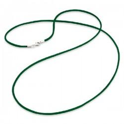 Cordón de seda ENGELSRUFER verde 80cm ERN-80-SI-04