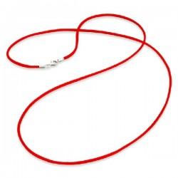 Cordón de seda ENGELSRUFER rojo 80cm ERN-80-SI-05