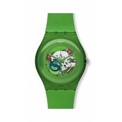 Reloj Unisex Swatch Green Lacquered SUOG103